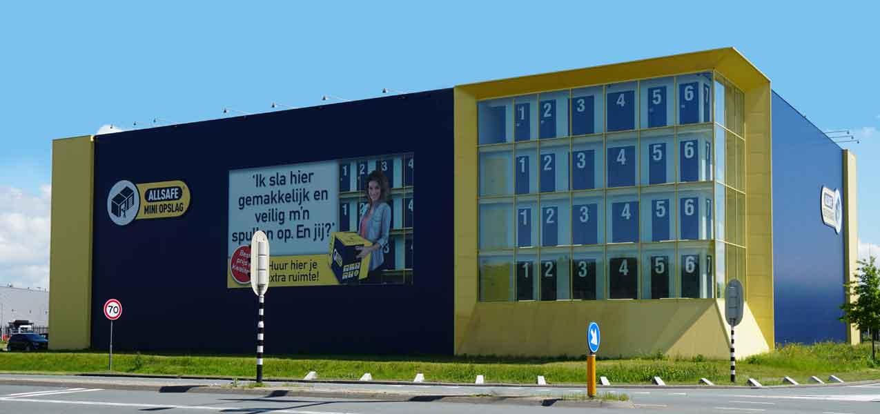 Opening nieuwe ALLSAFE opslaglocatie in Amersfoort