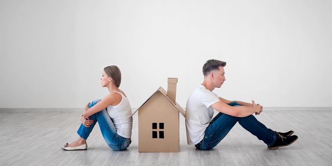 Een echtscheiding, een nieuwe frisse start: wat doe je met alle inboedel?