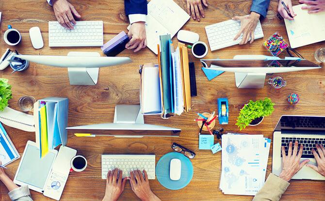 Kantoorruimte tekort? 5 tips voor een efficiënte werkplek!