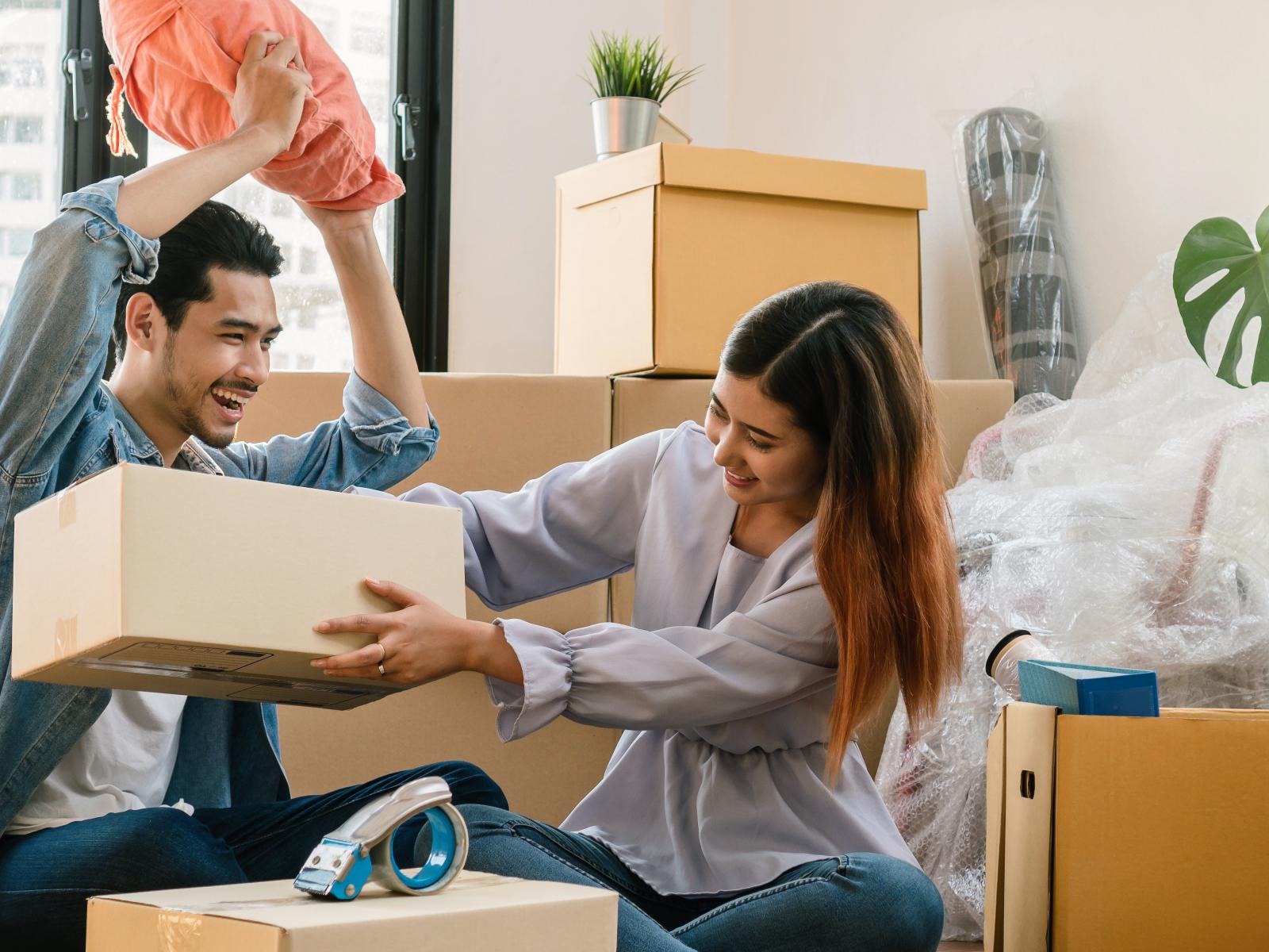 Rust in huis en hoofd na het verhuizen
