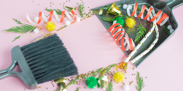 Je huis schoonmaken na de feestdagen: zó gedaan met onze tips!