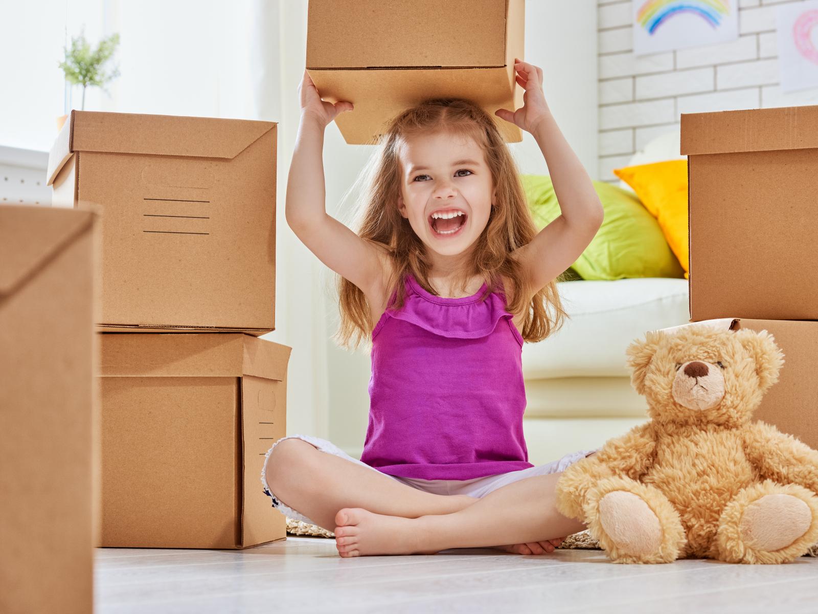 Blogserie verhuizen, Deel 2 – Relaxt verhuizen met jonge kinderen