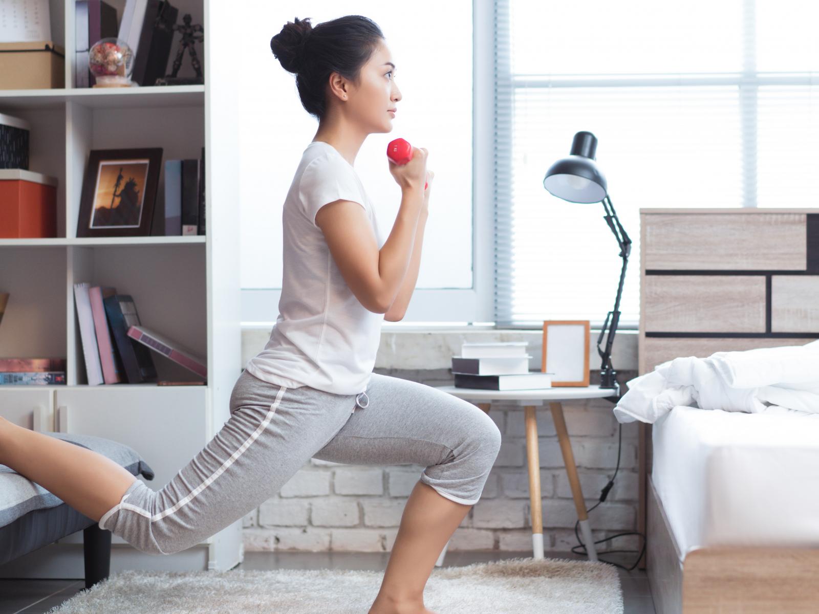 Maak ruimte voor die thuis workout!