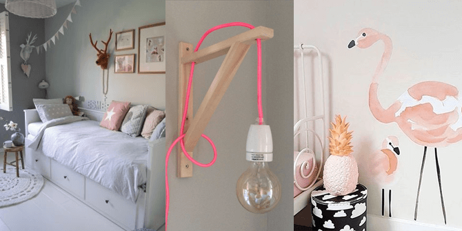 Slaapkamer inspiratie voor een nieuwe meidenkamer – kleine meisjes worden groot
