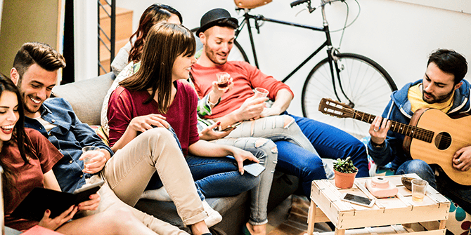 Samenwonen met vrienden – tips voor een toptijd!