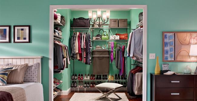 De walk in closet: zó vervul je de droom van elke vrouw!