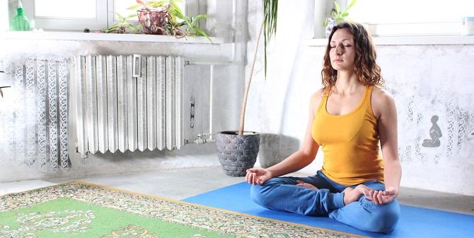 Zó creëer je thuis je eigen yoga- en meditatieruimte