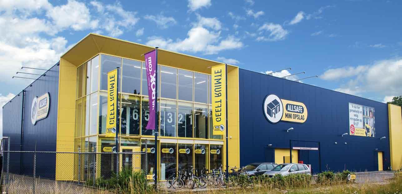 ALLSAFE Mini Opslag Nijmegen is vanaf vandaag open!
