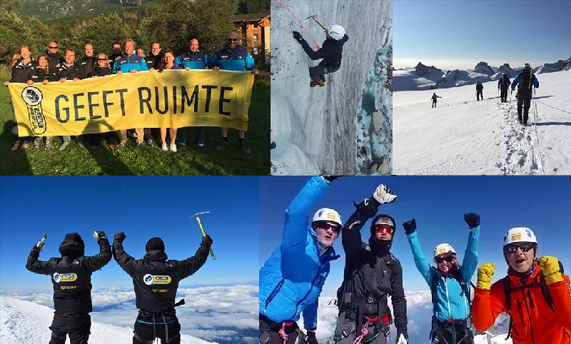ALLSAFE gaat opnieuw naar de top van de Mont Blanc voor het goede doel!