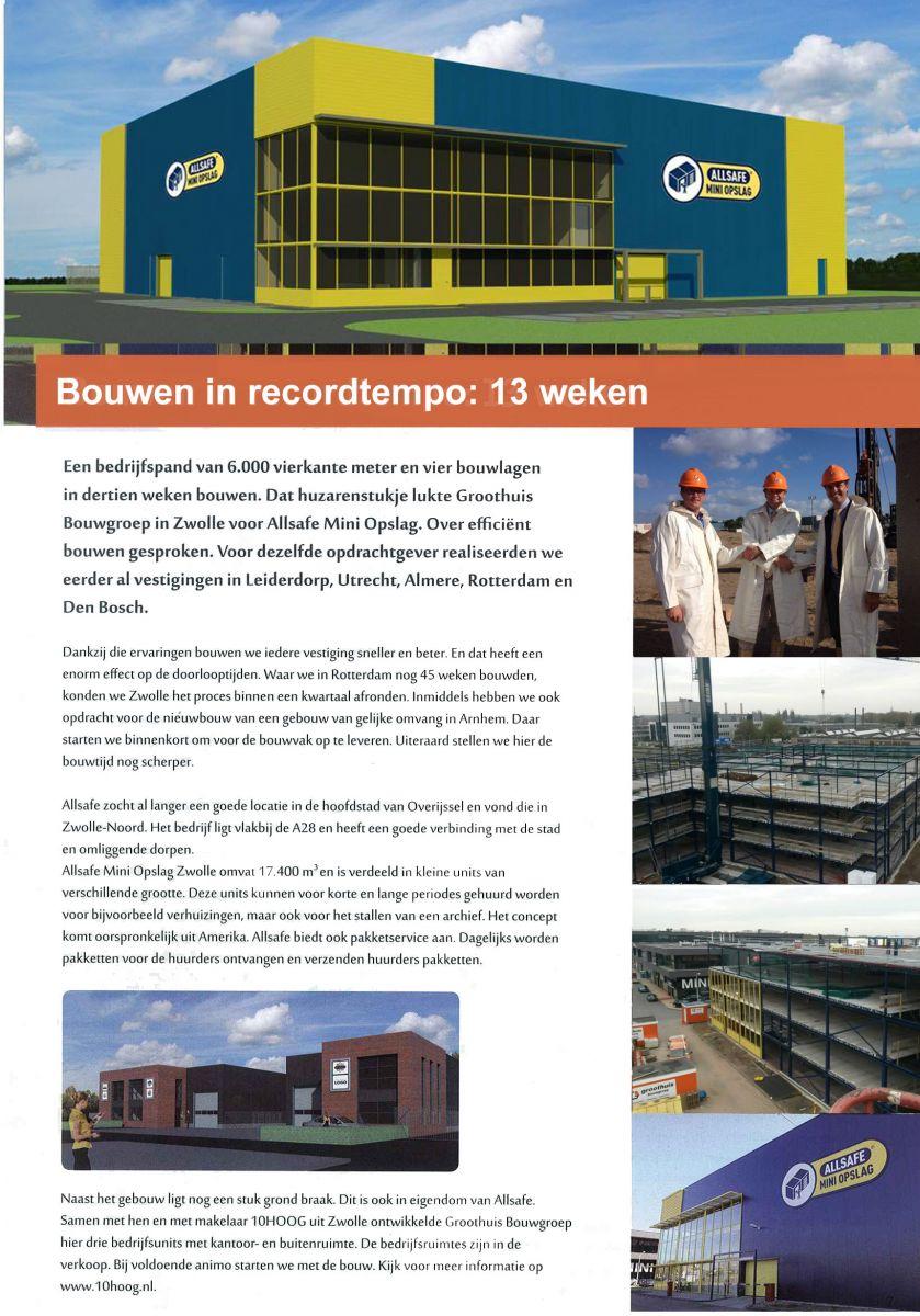 ALLSAFE Mini Opslag Zwolle