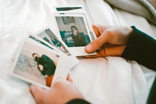 Foto's van je ex bewaren