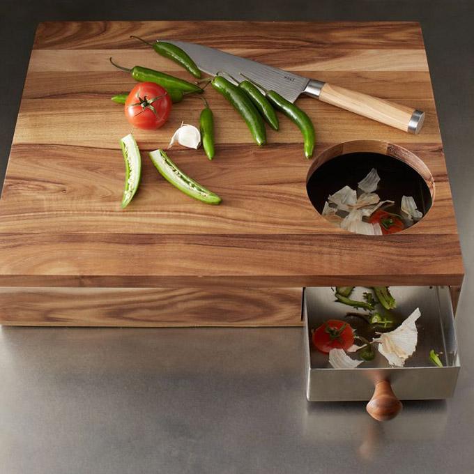 Slim omgaan met je werkruimte in een kleine keuken