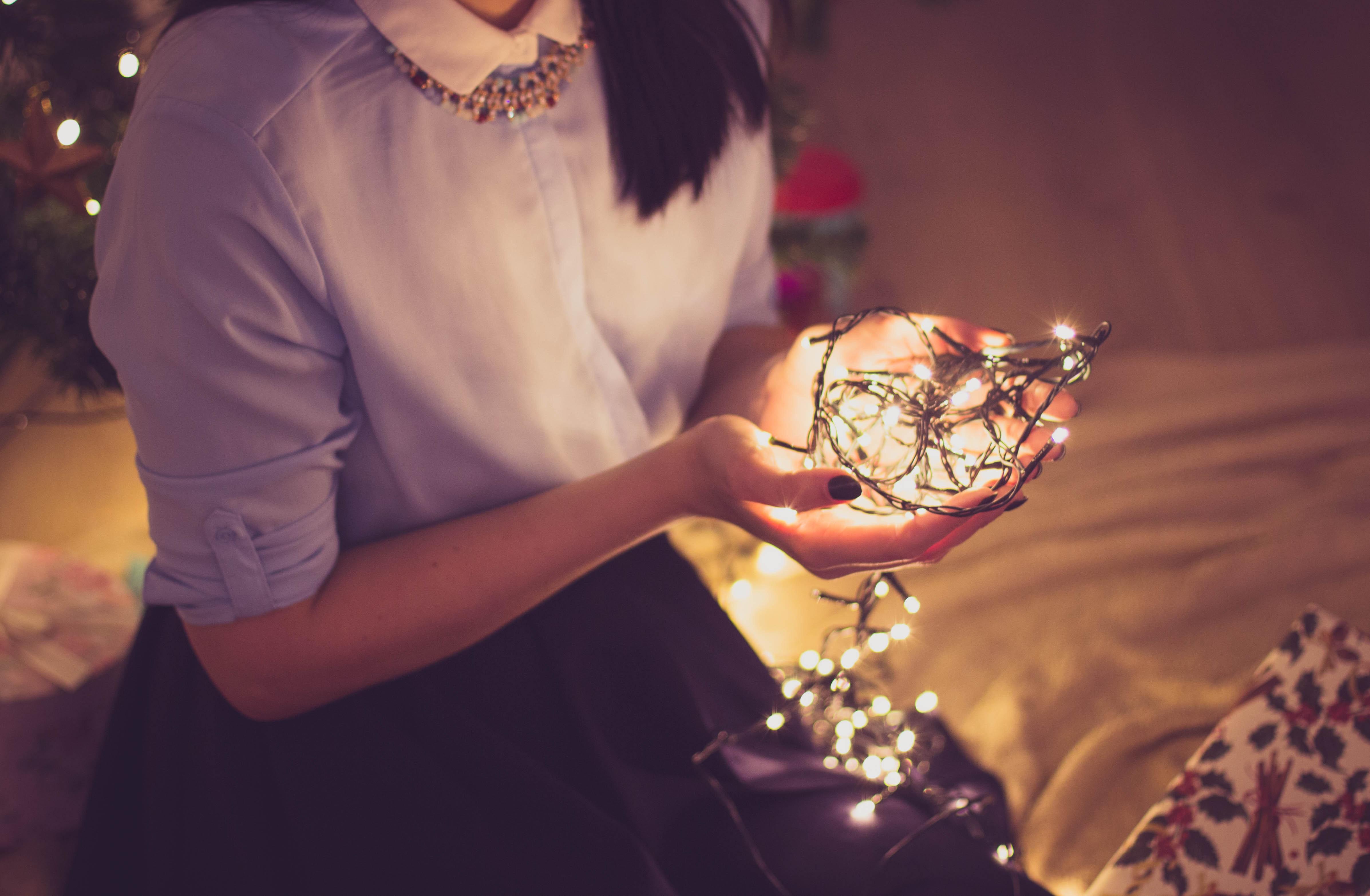 Kerstspullen opruimen zonder knopen