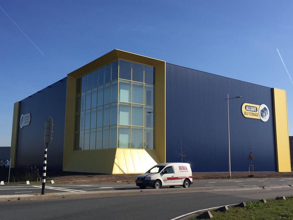 ALLSAFE Mini Opslag opent vestiging in Amersfoort