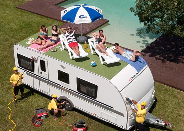 De uitpaklijst voor je caravan camper kampeer vakantie