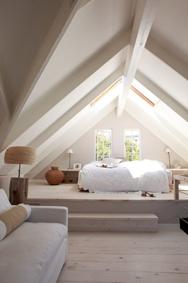 Slaapkamer op zolder creëren
