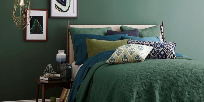 Groene slaapkamer tips
