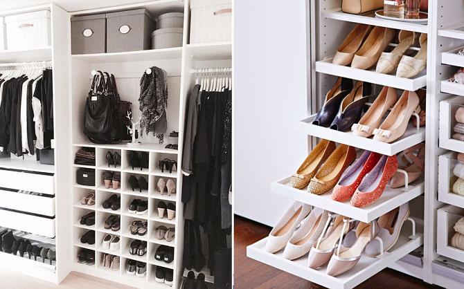 Inloopkast voor je schoenen