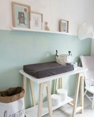 Handige indeling voor de babykamer