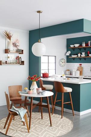 Kleur in de keuken