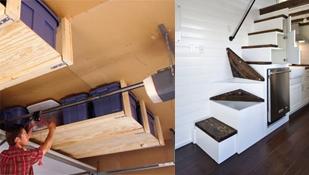 Opbergruimte onder de trap of plafond