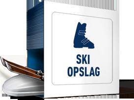 Skispullen opbergen en opslaan bij ALLSAFE Mini Opslag