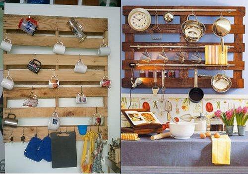 Hergebruik materialen voor in de keuken