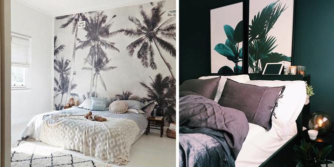 Slaapkamer behang