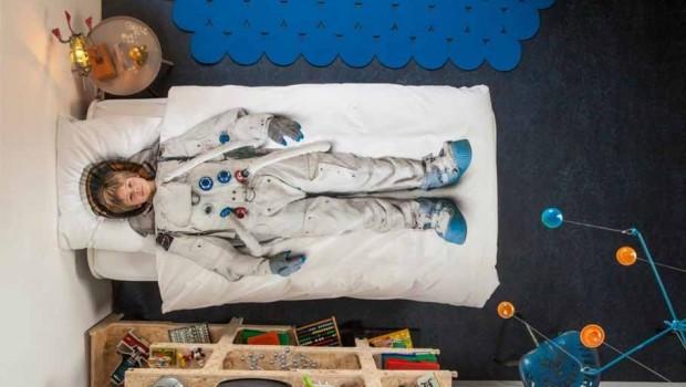 De zeven leukste manieren voor een ruimtereis in de kinderkamer