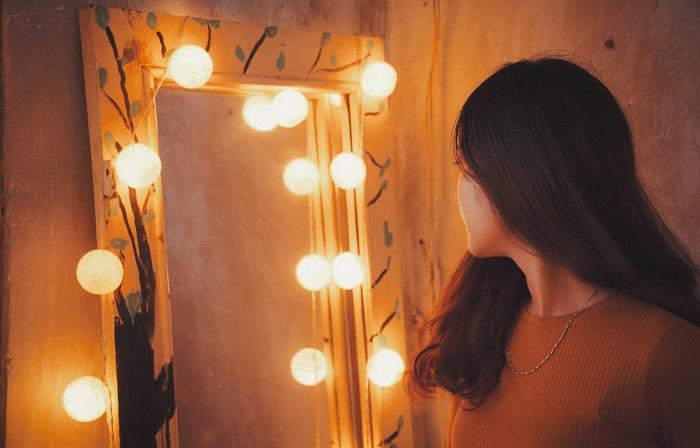 make up spiegel womancave