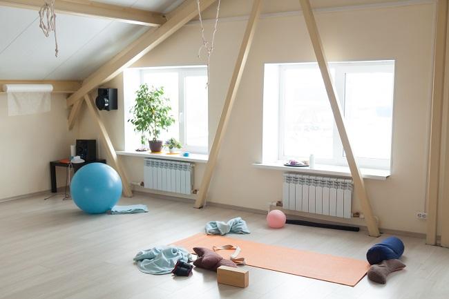 thuis gym inrichten