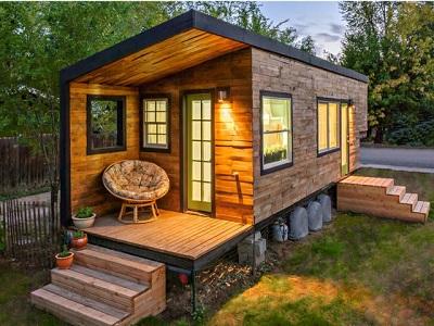 Tiny house met veranda ALLSAFE Blog