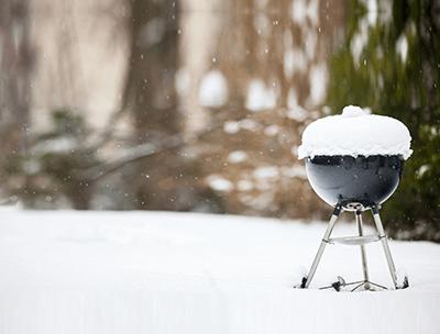 BBQ winterklaar maken