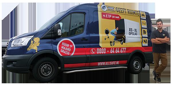 allsafe overstapaanbieding: gratis verhuishulp