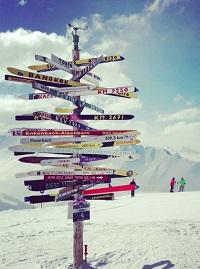 wintersport locaties